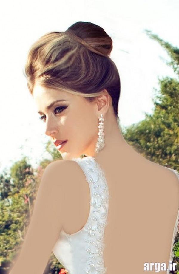 مدل موی عروس ساده و شیک
