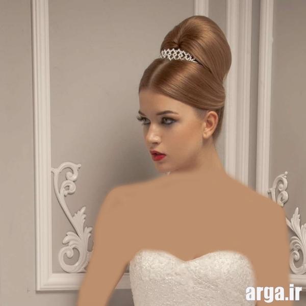 مدل موی عروس ساده و جذاب