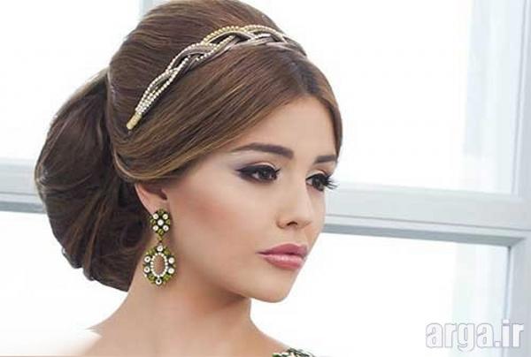 مدل موی عروس زیبا و ساده