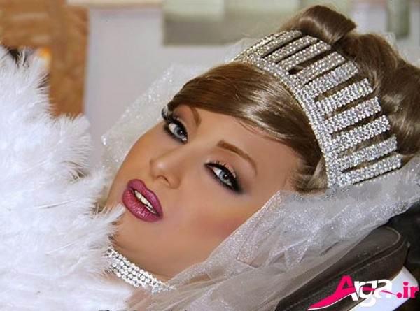 آرایش مدرن عروس
