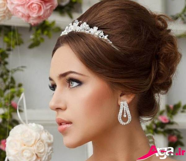 مدل آرایش مدرن عروس