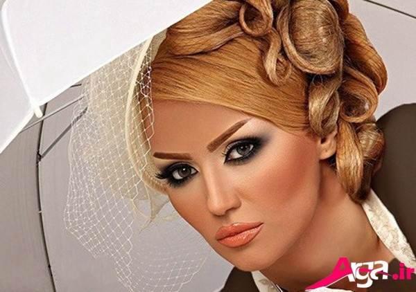 آرایش عروس زیبا و مدرن
