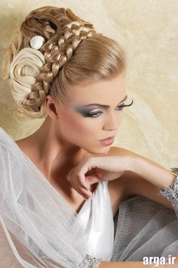 مدل موی عروس جدید و زیبا