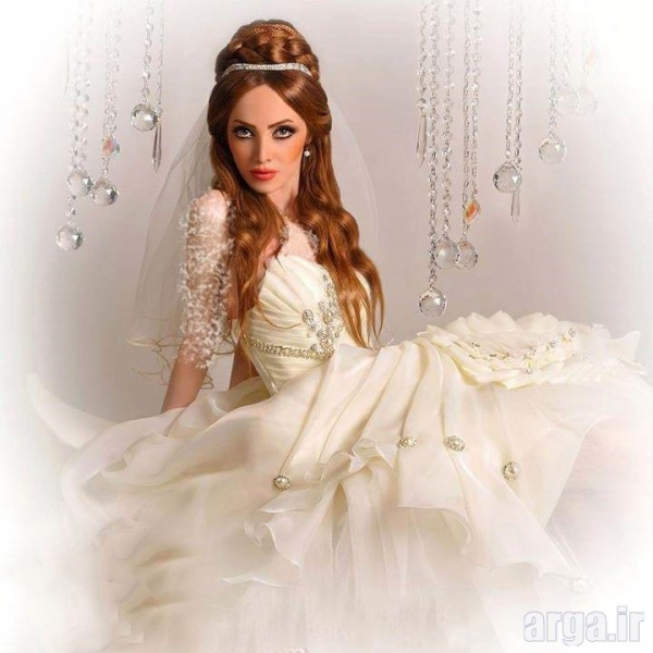 مدل های زیبا از موی عروس