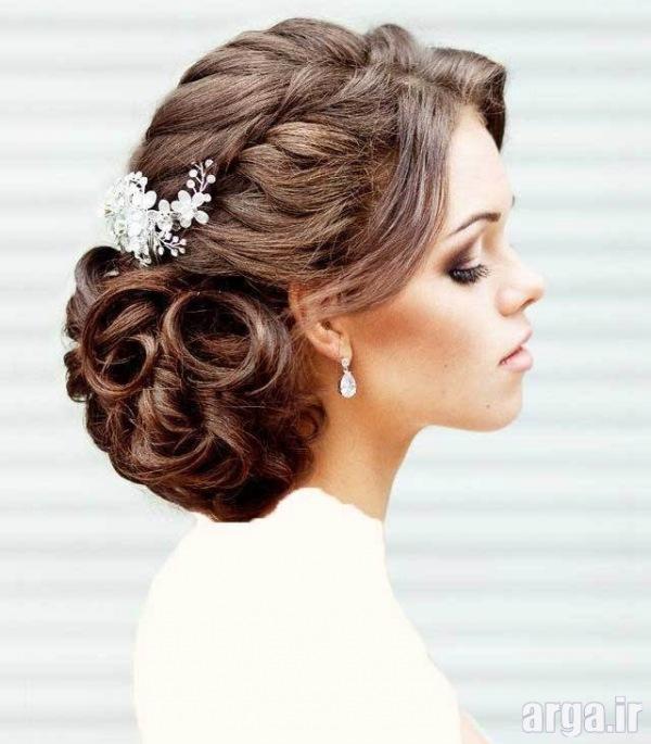 مدل های مدرن از موی عروس