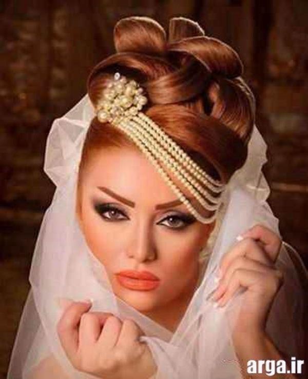 مدل جدید موی عروس