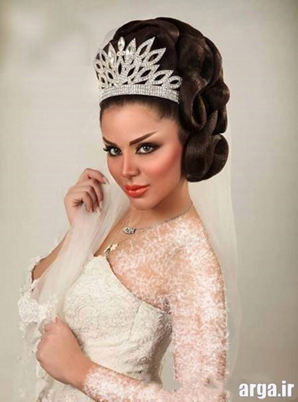 مدل زیبای موی عروس