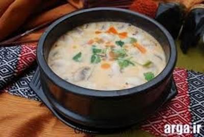 طرز تهیه سوپ قارچ ایده آل