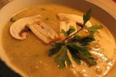 طرز تهیه سوپ قارچ معمولی