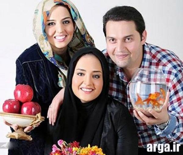 خواهر و برادر نرگس محمدی