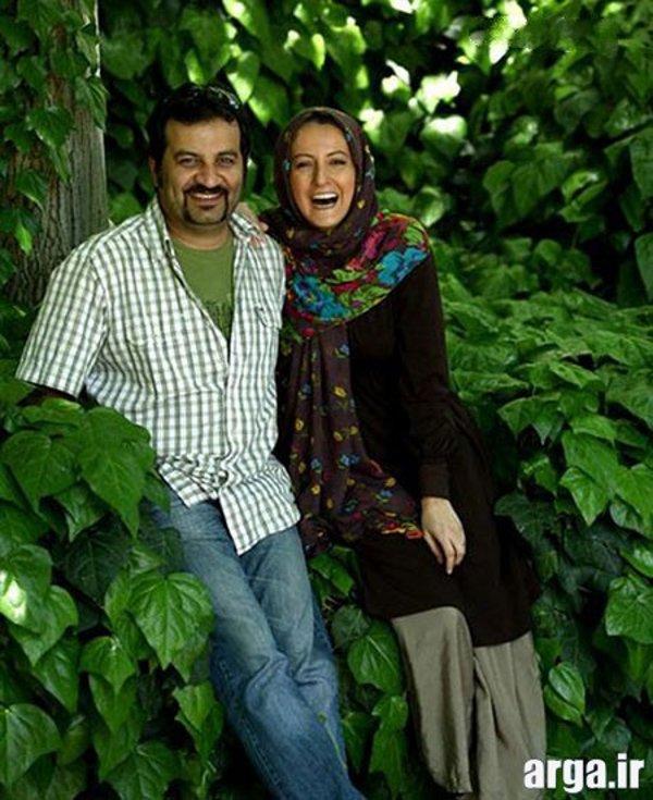 شقایق دهقان و همسرش