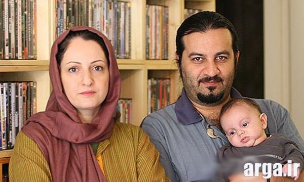 تصویری دیگر از همسر و پسر شقایق دهقان