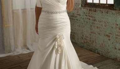 لباس عروس برای افراد چاق