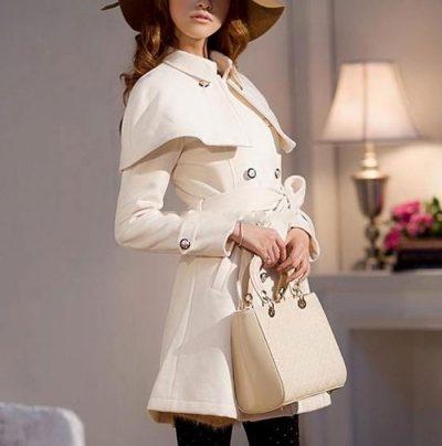 مدل مانتو سفید