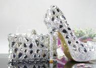 ست کیف و کفش عروس