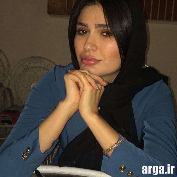 شیوا طاهری در منزل