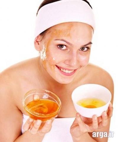 عسل و منافذ باز پوست