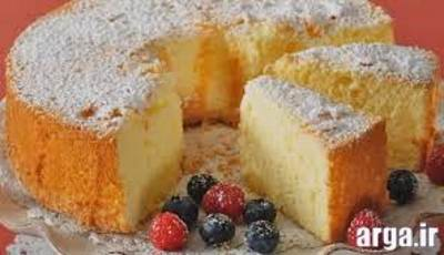 کیک اسفنجی ساده