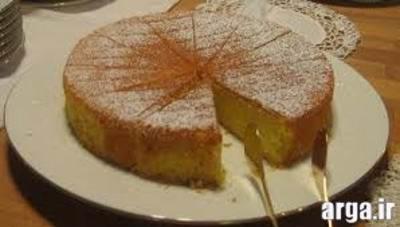 کیک اسفنجی ساده و نرم
