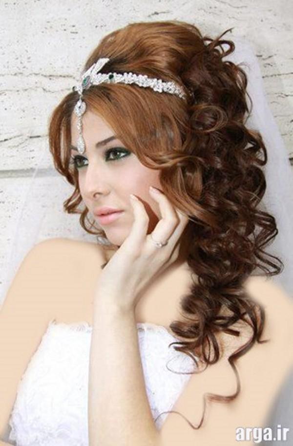 مدل موی ترکیه ای عروس زیبا