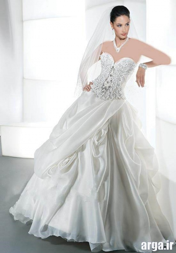 زیباترین لباس عروس باکلاس