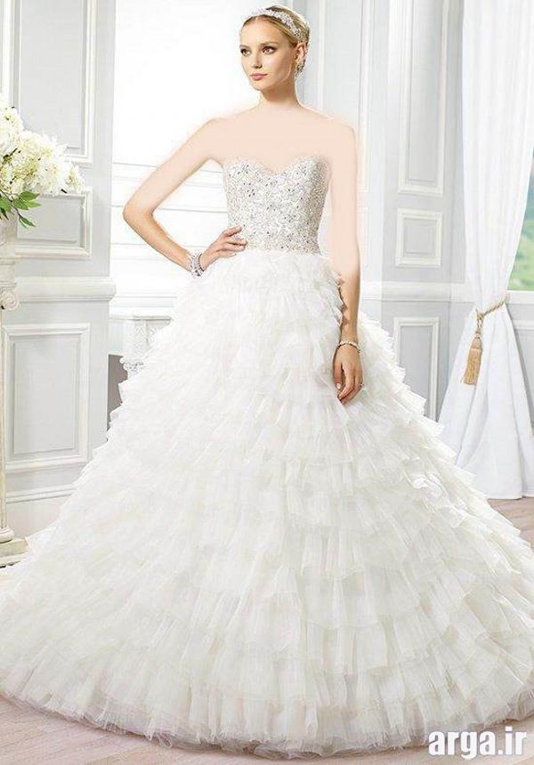 لباس عروس زیبا و شیک