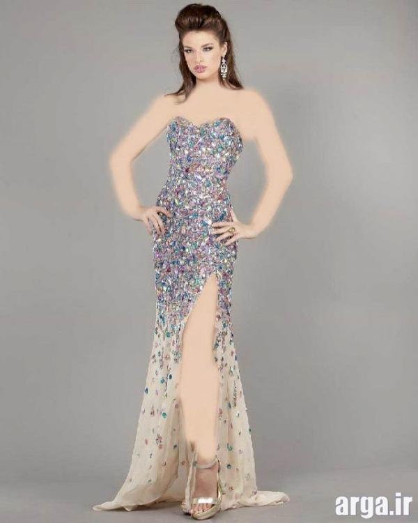 زیباترین مدل های لباس شب جدید