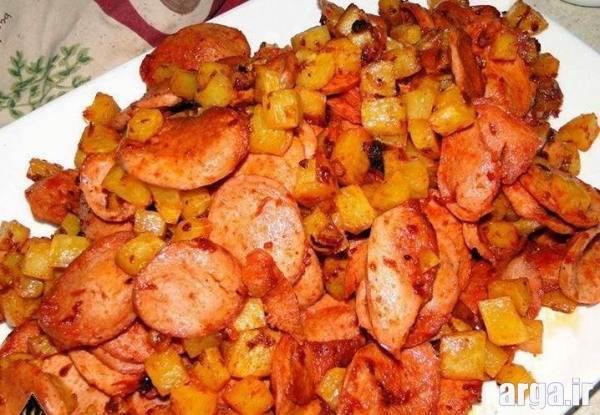 پخت سوسیس بندری