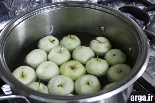 آموزش پخت کمپوت سیب