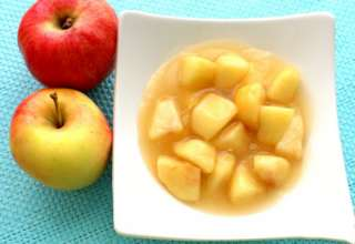 طرز تهیه کمپوت سیب