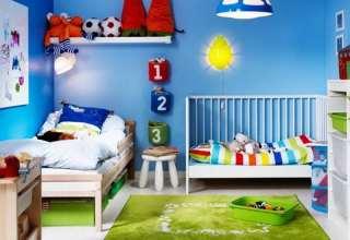 دکوراسیون اتاق کودک پسرانه