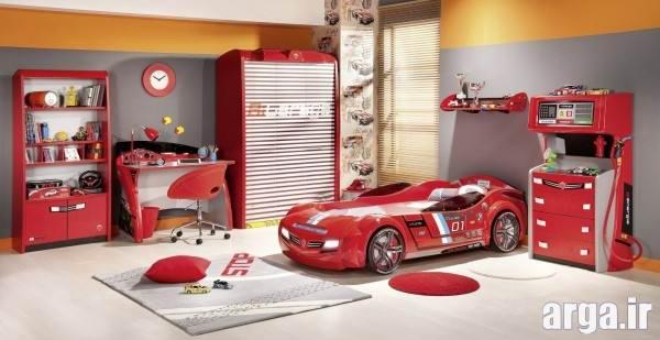 دکوراسیون اتاق کودک قرمز