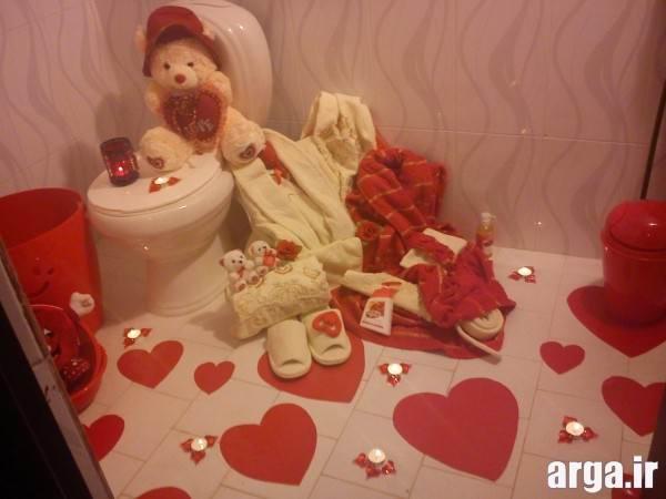 مدل تزیین حمام عروس