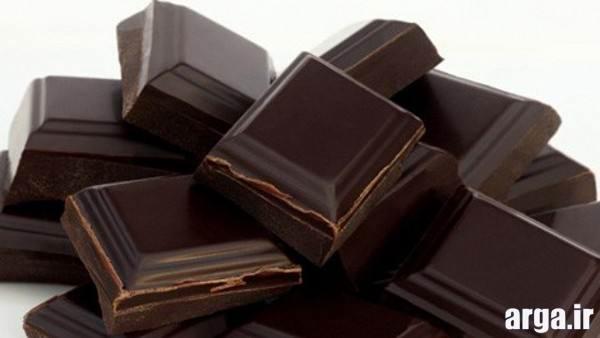 ساخت دسر با شکلات