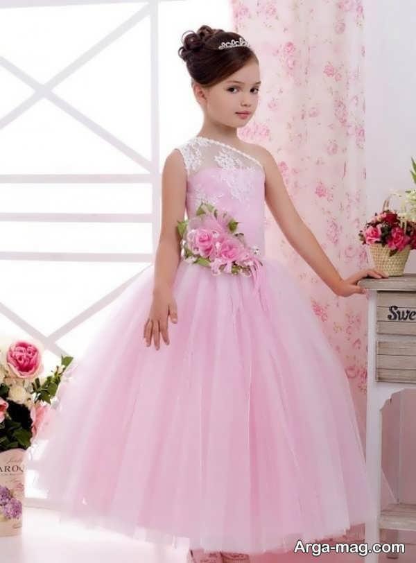 لباس عروسی رنگی و زیبا