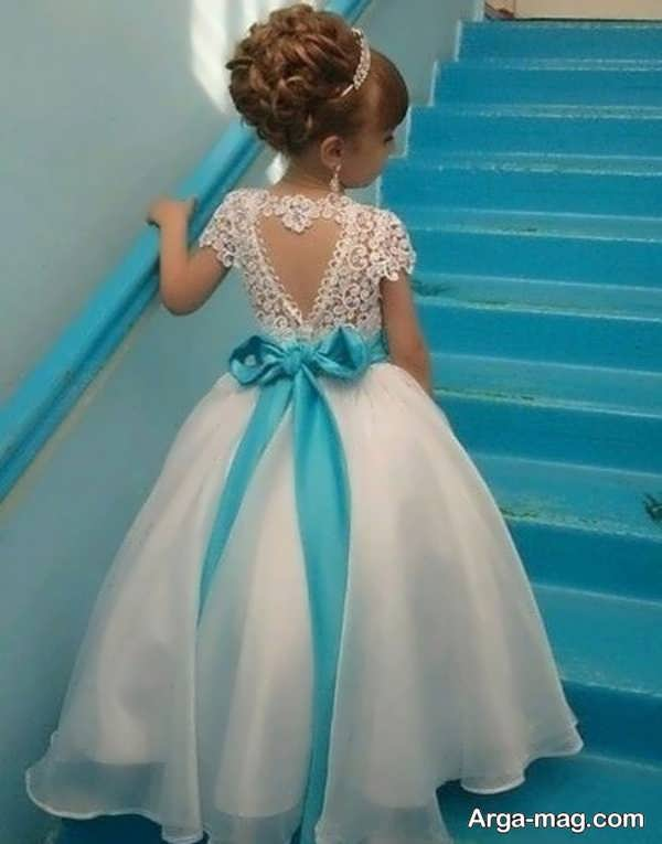 لباس عروسی رنگی