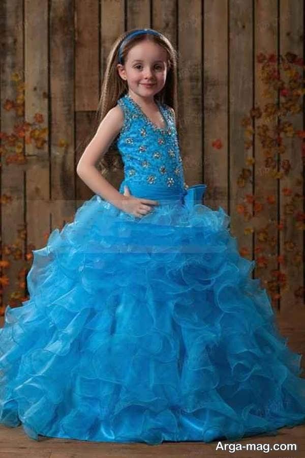 مدلهای لباس عروسی رنگی