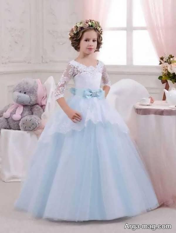لباس عروسی رنگی و شیک