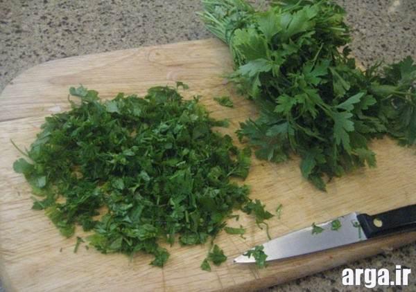 سبزیجات سوپ مرغ