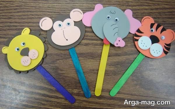 کاردستی ساده برای بچه ها