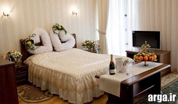 مدل تزیینات اتاق خواب عروس