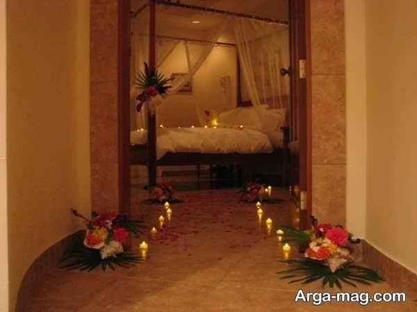 زیباترین تزیینات اتاق خواب عروس