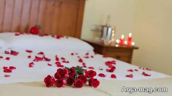 مدل تزیین اتاق خواب عروس