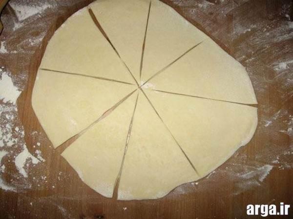 مدل پیراشکی مثلثی