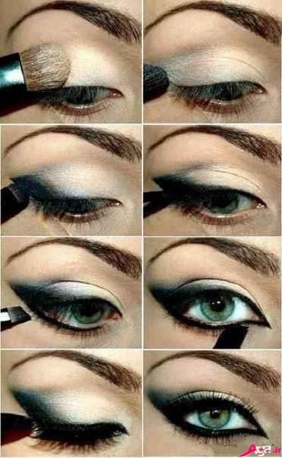 مدل آرایش جدید چشم
