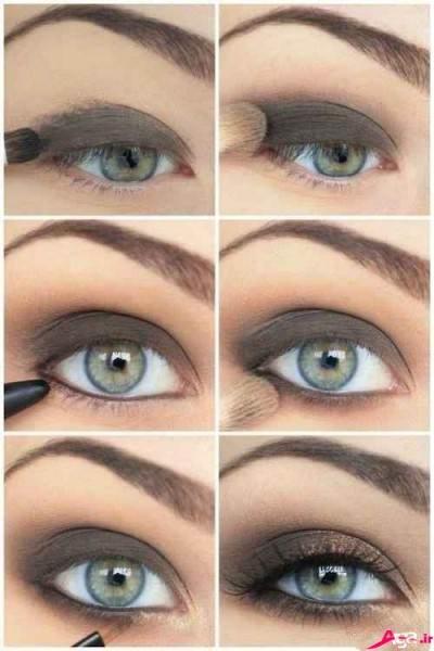 آرایش کردن چشم
