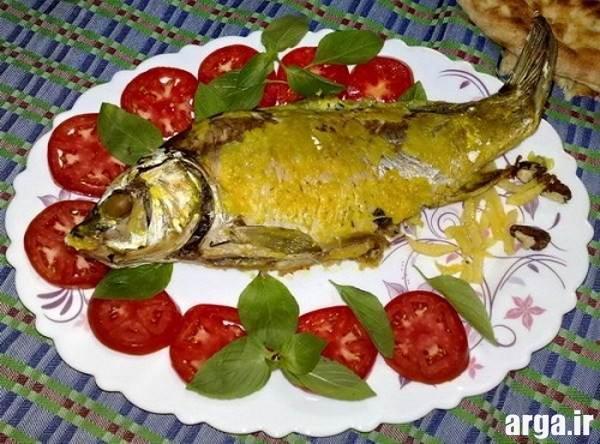تزیین ماهی سوخاری