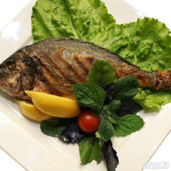 تزیین غذاهای دریایی