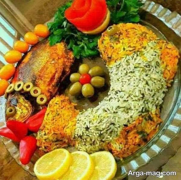 تزیینات ماهی مجلسی