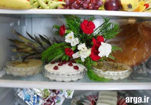 تزیین زیبا و شیک یخچال عروس